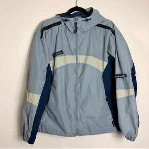 Colombia lightweight blue jacket